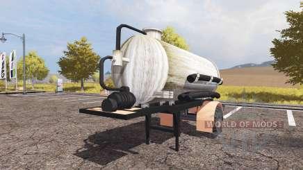 Manure semitrailer для Farming Simulator 2013