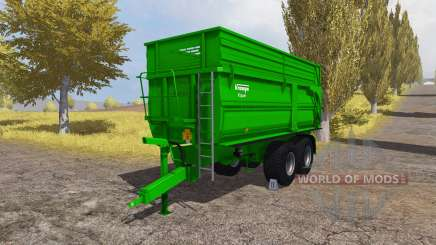 Krampe Big Body 650 S для Farming Simulator 2013