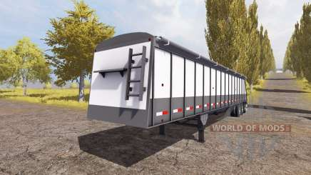 Cornhusker 800 3-axle hopper trailer для Farming Simulator 2013