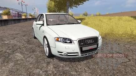 Audi A4 3.0 TDI quattro (B7) v1.1 для Farming Simulator 2013