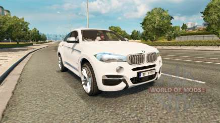 BMW X6 M50d (F16) v2.0 для Euro Truck Simulator 2