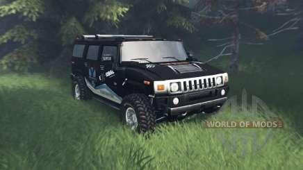 Hummer H2 TrophyStorm для Spin Tires