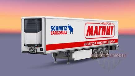 Скины российских компаний на полуприцеп для Euro Truck Simulator 2