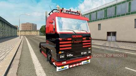 Scania 143M 500 Meulman для Euro Truck Simulator 2