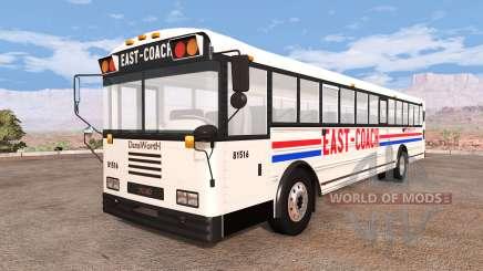 Dansworth D2500 (Type-D) east-coach v1.1 для BeamNG Drive