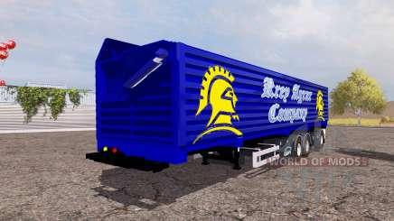 Ekeri big tipper semitrailer для Farming Simulator 2013