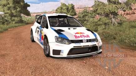 Volkswagen Polo R WRC v2.0 для BeamNG Drive