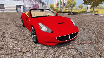 Ferrari California 2010 для Farming Simulator 2013