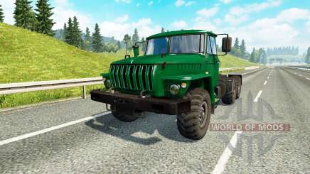 Урал 43202 v3.3 для Euro Truck Simulator 2