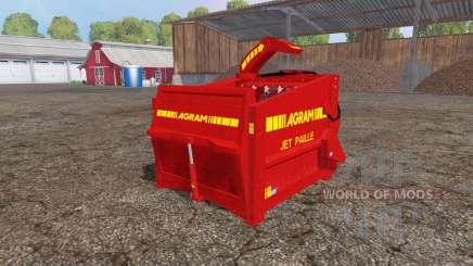 Agram Jet Paille v2.0 для Farming Simulator 2015