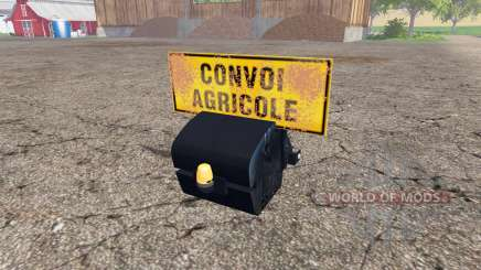 Weight New Holland для Farming Simulator 2015
