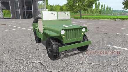 Jeep Willys MB 1942 для Farming Simulator 2017