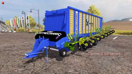 Krone ZX 550 GD rake ArtMechanic v3.5 для Farming Simulator 2013