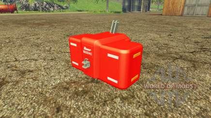 Suer SB 1600 multicolor для Farming Simulator 2015
