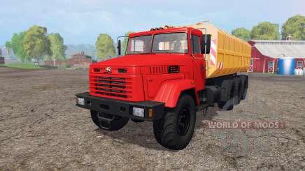 КрАЗ 7140Н6 для Farming Simulator 2015