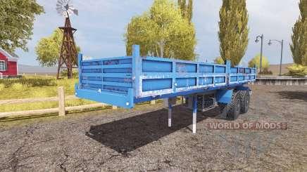 Tipper semitrailer для Farming Simulator 2013
