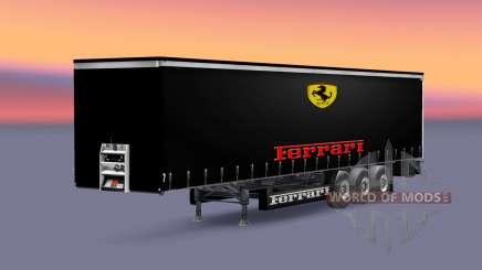 Скины команд Формулы-1 на полуприцеп для Euro Truck Simulator 2