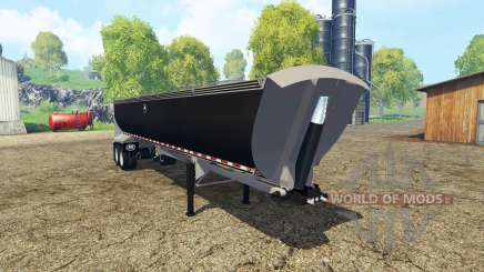MAC dump semitrailer для Farming Simulator 2015