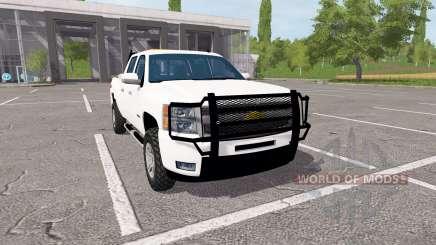 Chevrolet Silverado Z71 Crew Cab для Farming Simulator 2017