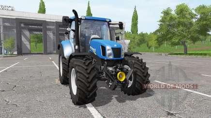 New Holland T6.155 для Farming Simulator 2017