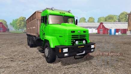КрАЗ 64431 v1.2 для Farming Simulator 2015