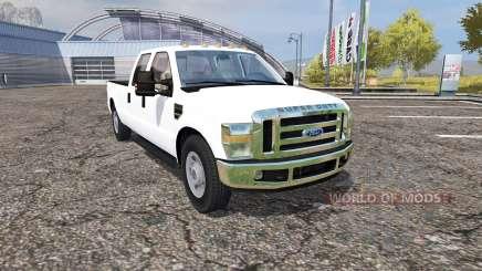Ford F-350 Crew Cab для Farming Simulator 2013