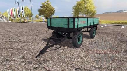 Tractor trailer v2.0 для Farming Simulator 2013