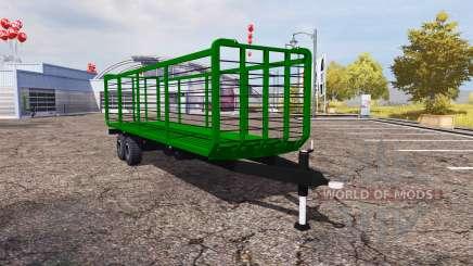 Straw trailer v1.1 для Farming Simulator 2013