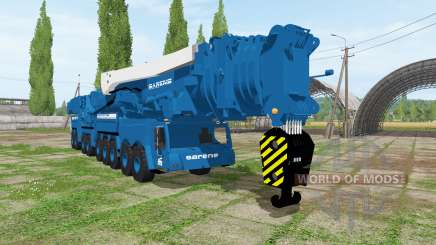 Liebherr LTM 11200-9.1 Sarens для Farming Simulator 2017