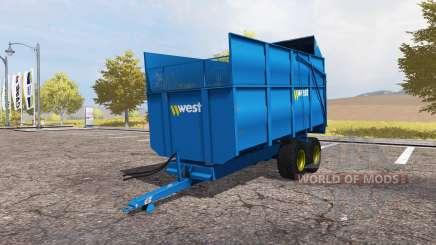 Harry West 10T Silage для Farming Simulator 2013