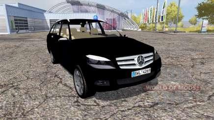 Mercedes-Benz C320 CDI Estate (S204) FBI для Farming Simulator 2013