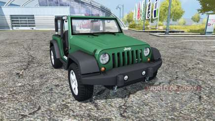 Jeep Wrangler (JK) v0.95 для Farming Simulator 2013
