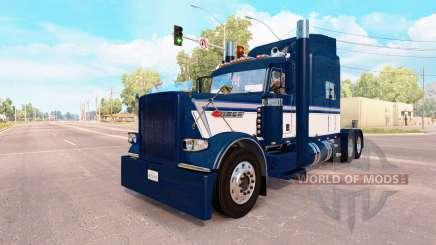 Скин Fitzgerald на тягач Peterbilt 389 для American Truck Simulator