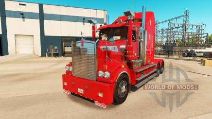 Kenworth T908 v6.0 для American Truck Simulator