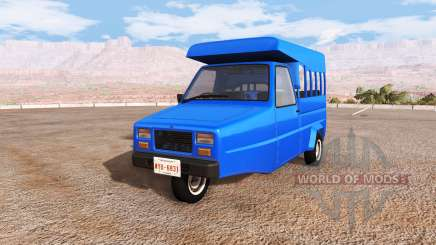 Ibishu Pigeon thai minibus для BeamNG Drive