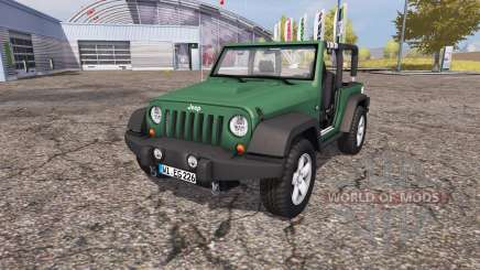 Jeep Wrangler (JK) v1.1 для Farming Simulator 2013