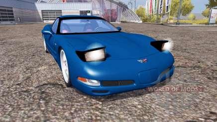 Chevrolet Corvette Z06 (C5) для Farming Simulator 2013