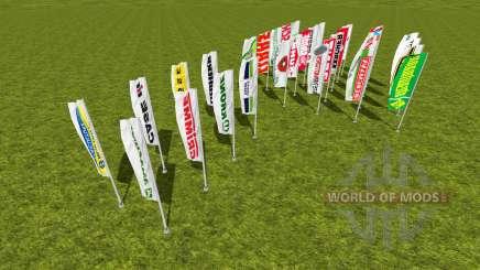 Flags pack для Farming Simulator 2015