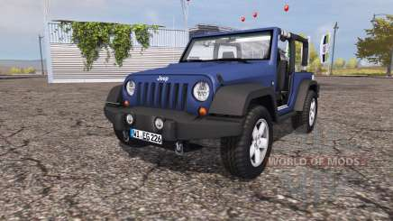 Jeep Wrangler (JK) v1.0 для Farming Simulator 2013