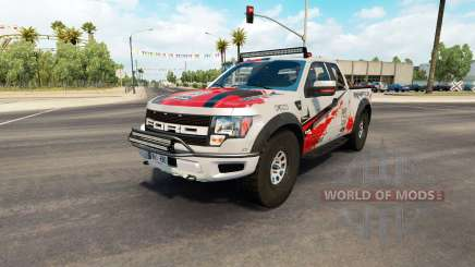 Ford F-150 SVT Raptor v2.2 для American Truck Simulator