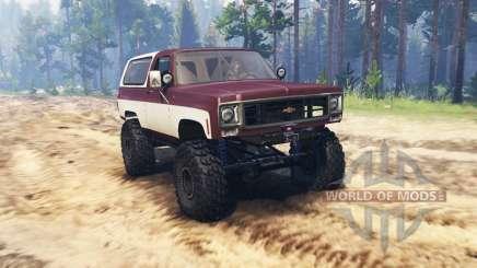 Chevrolet K5 Blazer для Spin Tires
