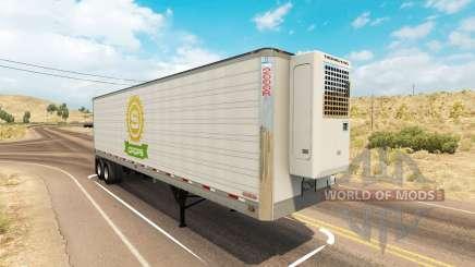 Utility 2000R trailer для American Truck Simulator