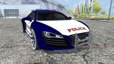 Audi R8 Police для Farming Simulator 2013