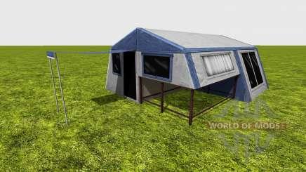 Camping tent для Farming Simulator 2015