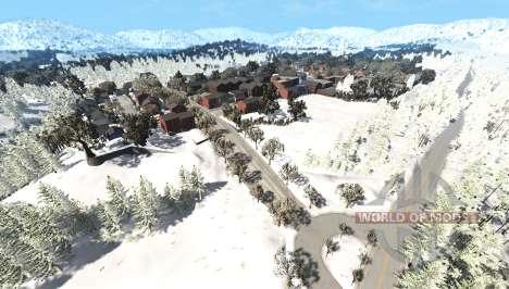 East coast U.S.A winter v4.4 для BeamNG Drive