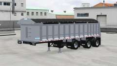 Cobra tri-axle dump trailer