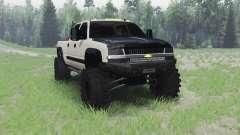 Chevrolet Silverado 2003 для Spin Tires