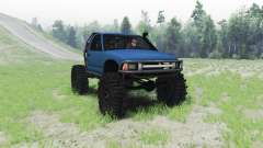 Chevrolet S-10 1996 truggy для Spin Tires