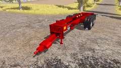 Krampe chassis для Farming Simulator 2013