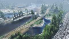 Сила реки для Spin Tires